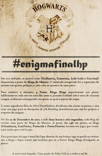 Potterish :: Harry Potter, o Ickabog, Animais Fantásticos e JK Rowling Dispute o #enigmafinalHP com 4 sites da série!