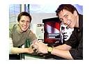phelps3 - Gêmeos Phelps comparecerão à abertura do parque de HP!
