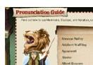 Potterish :: Harry Potter, o Ickabog, Animais Fantásticos e JK Rowling Guia de pronúncia dos nomes de Harry Potter