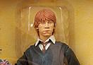 Potterish :: Harry Potter, o Ickabog, Animais Fantásticos e JK Rowling Boneco de Rony vem com frases de ação